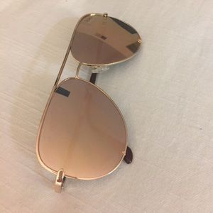 QuayXDesi High Key Gold/Gold Sunglasses